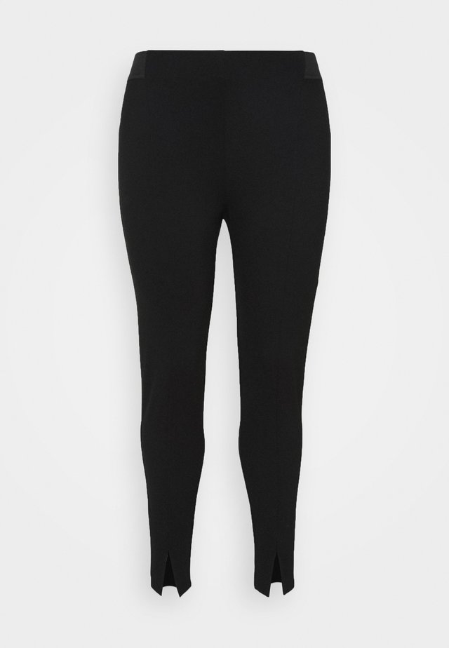 JCARINA CROPPED - Leggings - Trousers - black