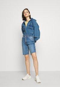 BDG Urban Outfitters - PATCH POCKET JACKET - Denim jacket - mid vintage - 1