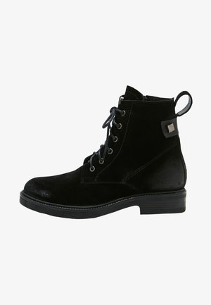 Platform ankle boots - sd black cbk