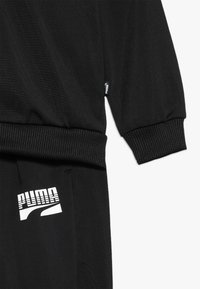 Puma - REBEL SUIT - Tracksuit - puma black - 3