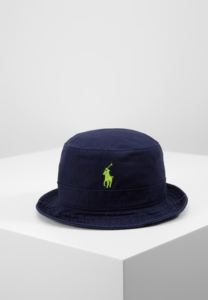 BUCKET HAT - Chapeau - navy/neon