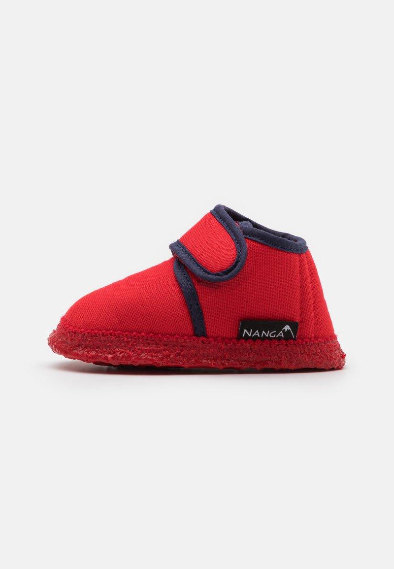 Nanga - LUNA UNISEX - Domácí obuv - ziegelrot