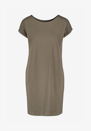 MORRIS & CO. AT NEXT RELAXED CAPPED SLEEVE TUNIC DRESS - Sukienka z dżerseju - khaki