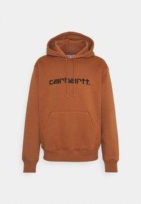 Carhartt WIP - HOODED - Sweatshirt - rum/black - 0