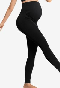 Carriwell - MATERNITY SUPPORT - Leggings - Stockings - black - 3