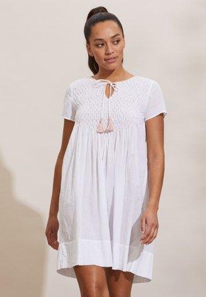 Day dress - bright white