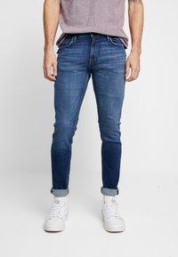 Jack & Jones - JJIGLENN JJFELIX  - Slim fit jeans - blue denim - 0