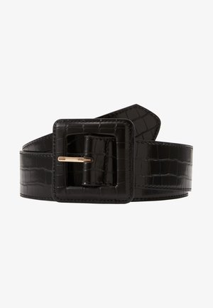 CROCO - Waist belt - noir