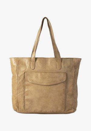 ALESIA - Tote bag - tan