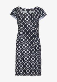 Betty Barclay - Day dress - dunkelblau/weiß - 2