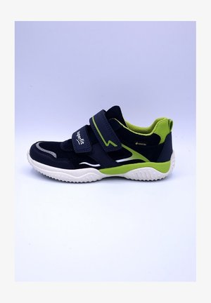 STORM - Trainers - blau/hellgrün