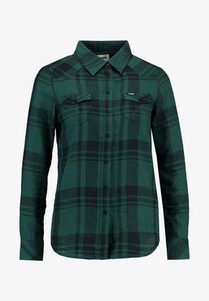 WESTERN CHECK - Skjorte - pine