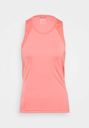 CORE ENDUR SINGLET  - Top - coral