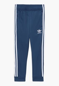adidas Originals - SUPERSTAR PANTS - Tracksuit bottoms - marin/white - 0