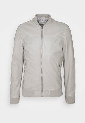 BOCHUM - Kožená bunda - grey