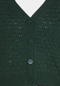 Monki - NINNI CARDIGAN - Kardigan - green dark - 4