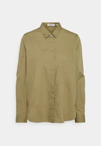 CLOSED - HAILEY - Button-down blouse - green umber - 6