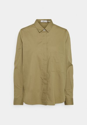 HAILEY - Button-down blouse - green umber