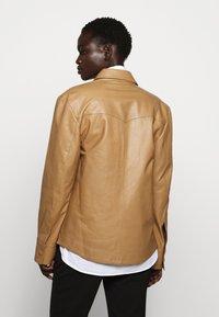 Rika - PARIS JACKET - Leather jacket - light brown - 2
