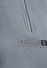 Hummel - HMLLGC NIKKA CROPPED - Strikpullover /Striktrøjer - grey melange - 12