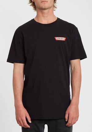 LTW SS - Camiseta estampada - black