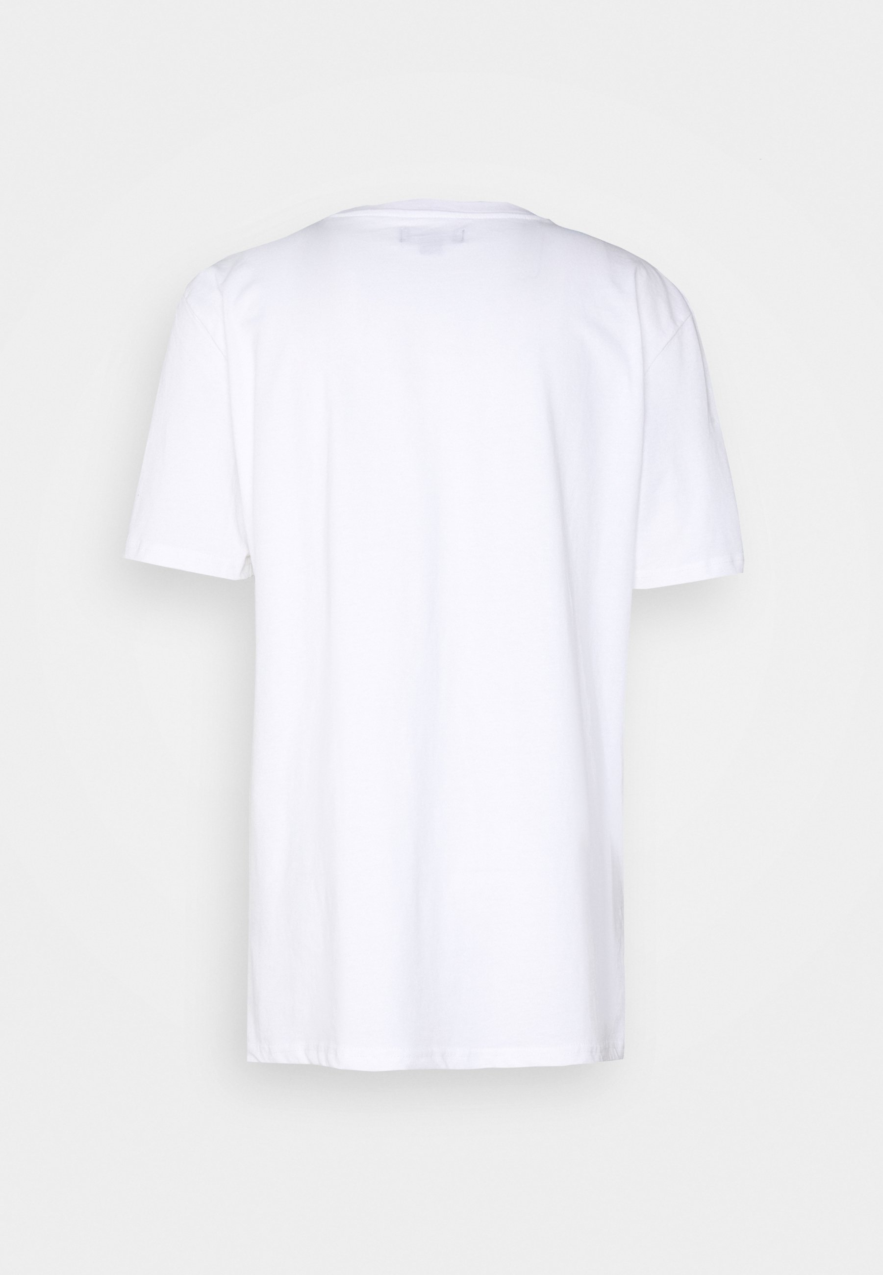 Urban Threads Graphic Printed Oversized - T-shirt Print White