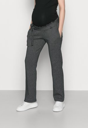 MLPAOLA  PANTS - Pantalones - grey/white
