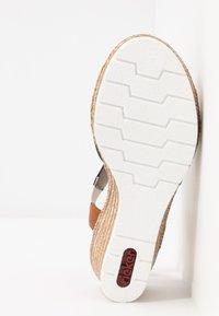 Rieker - Platform sandals - pazifik/cayenne - 6
