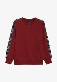 Champion - AMERICAN CLASSICS PIPING CREWNECK  - Sudadera - bordeaux