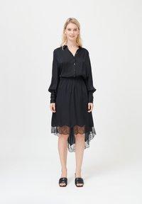 Dea Kudibal - CADENCE - Button-down blouse - black - 1