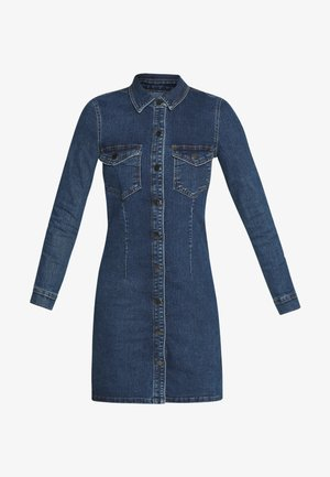 JDYSANNA DRESS - Farkkumekko - medium blue denim