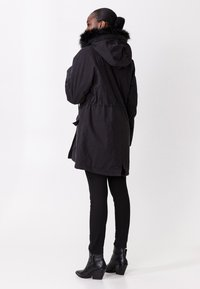 Indiska - KELLYANNE - Down coat - black - 2