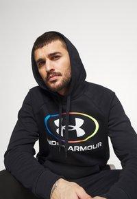 Under Armour - RIVAL LOCKERTAG - Zip-up hoodie - black - 4