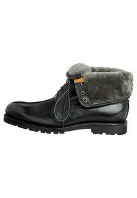 Prime Shoes - SANTO - Lace-up ankle boots - black - 4