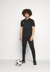 adidas Performance - TIRO PRIDE - T-shirt con stampa - black - 1