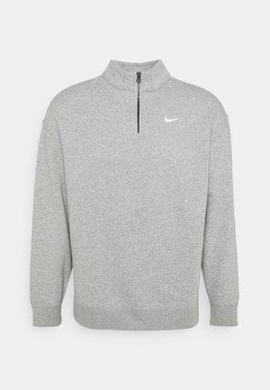 TREND - Sweatshirt - grey heather/matte silver/white