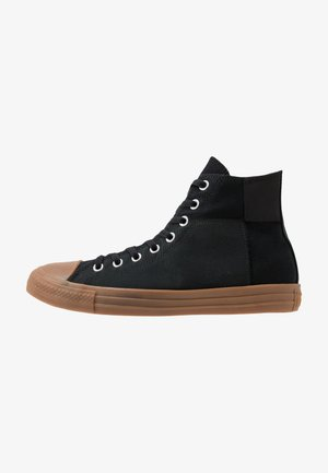 CHUCK TAYLOR ALL STAR - Korkeavartiset tennarit - black/honey