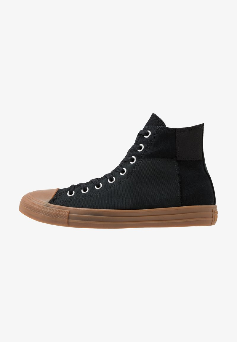 Converse - CHUCK TAYLOR ALL STAR - High-top trainers - black/honey