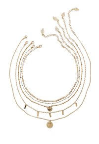 Stradivarius - 5ER-SET - Necklace - gold - 0