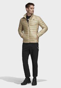 adidas Performance - VARILITE OUTDOOR DOWN - Down jacket - beige - 1