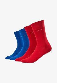 SOFT 4 PACK - Ponožky - true red