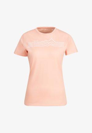 Print T-shirt - evening sand prt3