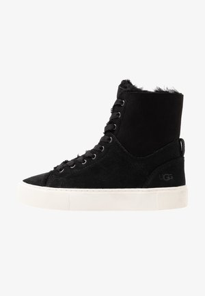 BEVEN - Baskets montantes - black
