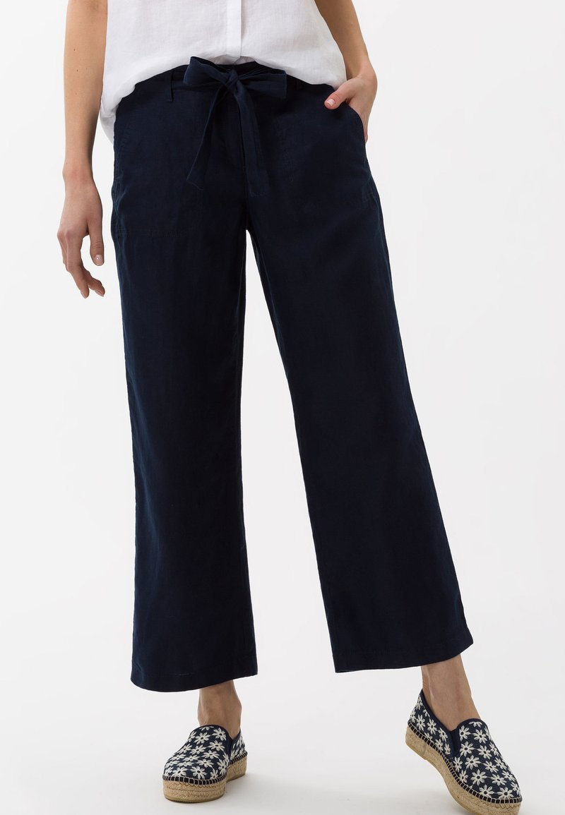BRAX - STYLE MAINE - Trousers - navy