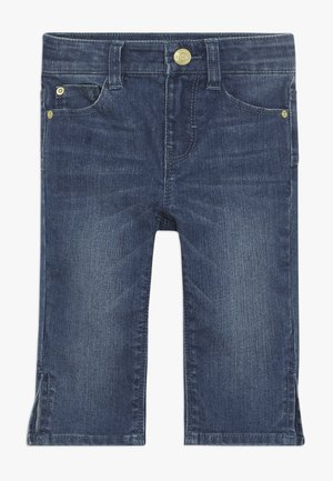 PANTS - Jeansshort - medium wash denim
