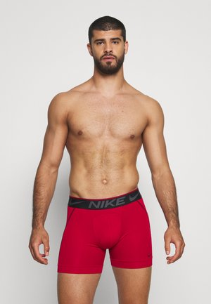 BRIEF 2 PACK - Shorty - gym red/black