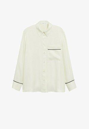 Pyjama top - ecru