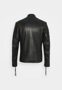 Tigha - TALON - Kožená bunda - black - 6