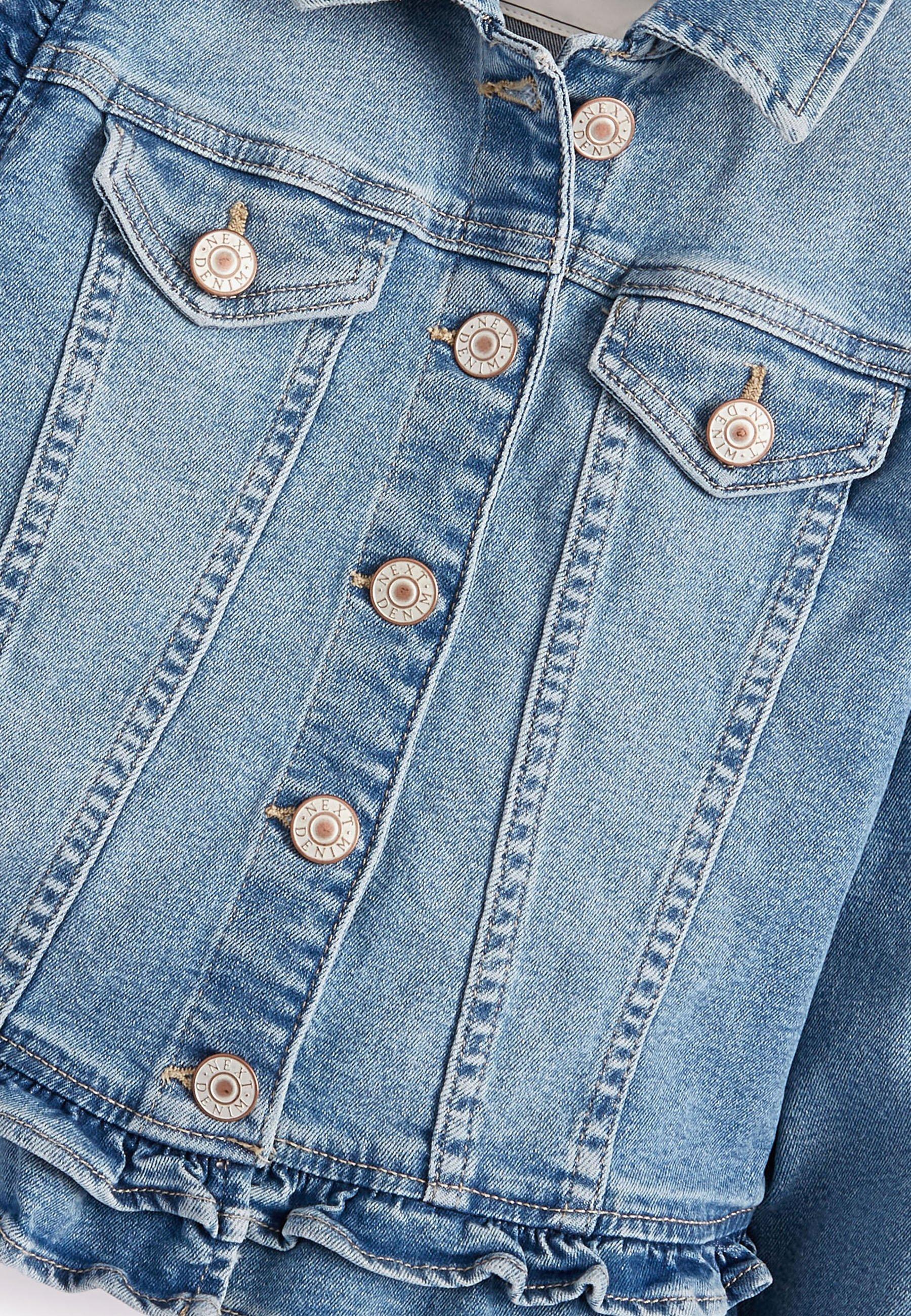 Kinder FRILL - Jeansjacke