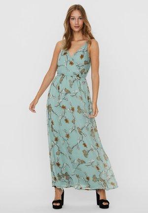 VMWONDA WRAP DRESS - Maxi-jurk - jadeite